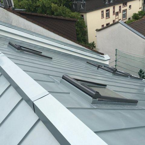 Ansicht von einem Dach